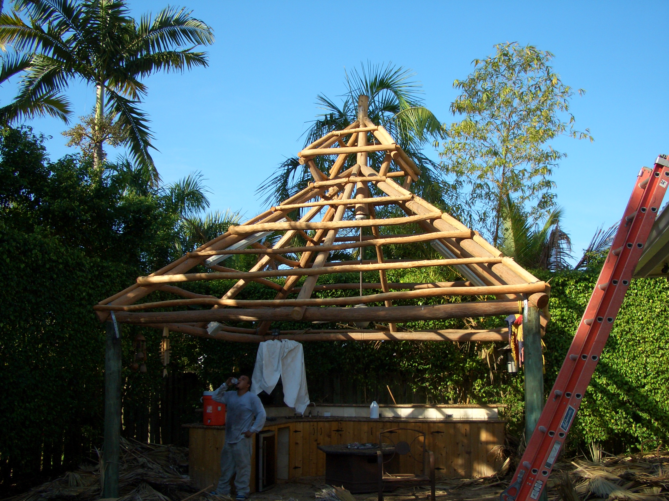Tiki huts often violate South Florida zoning rules