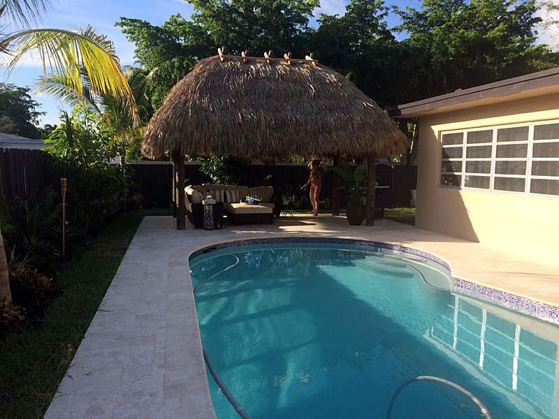 Residential Tiki Huts Key West Largo Miami Broward